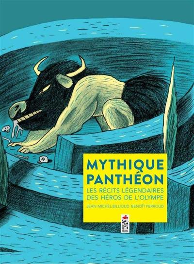Mythique panthéon : les récits légendaires des héros de l'Olympe