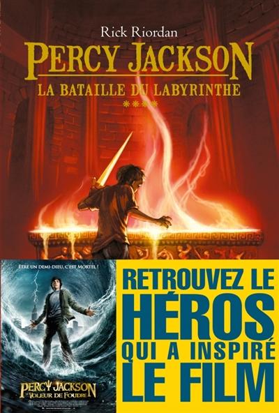 Percy Jackson Tome 04 : la bataille du labyrinthe | Riordan, Rick, auteur