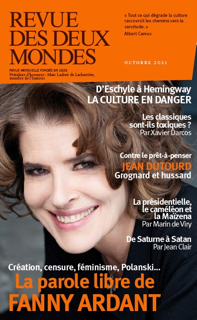 Revue des deux mondes, n° 10 (2021). La parole libre de Fanny Ardant : création, censure, féminisme, Polanski...
