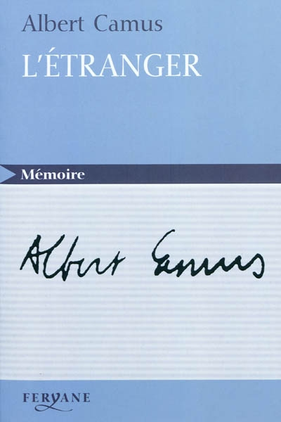 L' étranger / Albert Camus |