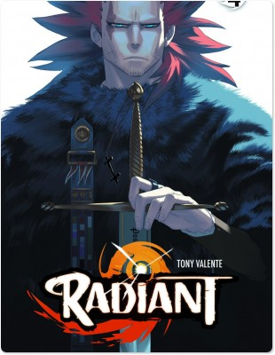 Radiant. 4 / scénario et dessin Tony Valente | Valente, Tony (1984-....). Auteur