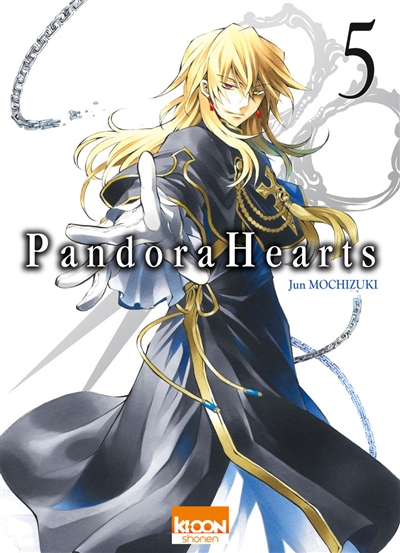 Pandora hearts. 5 | Jun Mochizuki. Auteur