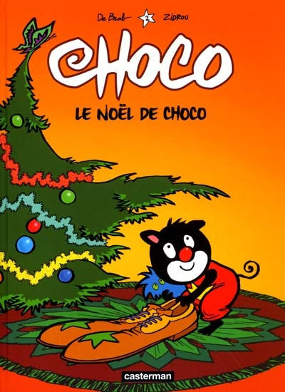 Le Noël de Choco / dessin, Carine De Brabanter | De Brab (1958-....). Illustrateur