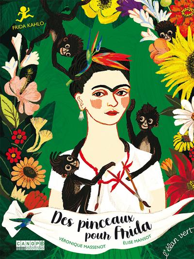 Des pinceaux pour Frida