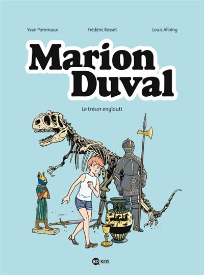 Marion Duval Tome 24 : le trésor englouti | Bouchié, Pascale, auteur