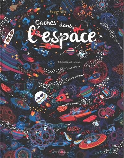 Cachés dans l'espace : cherche et trouve