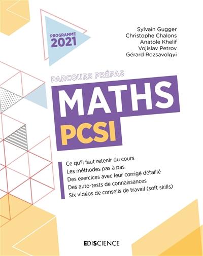 Maths PCSI : programme 2021