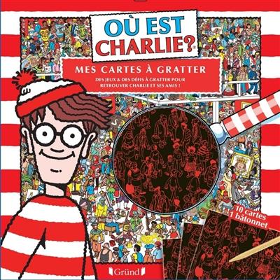 Où est Charlie ? : mes cartes à gratter