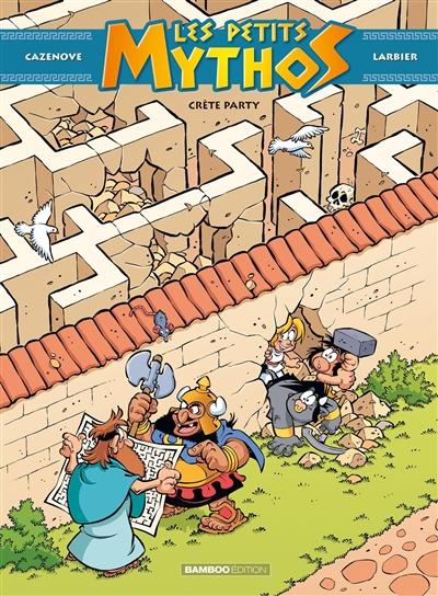 Les petits Mythos. Vol. 11. Crète party
