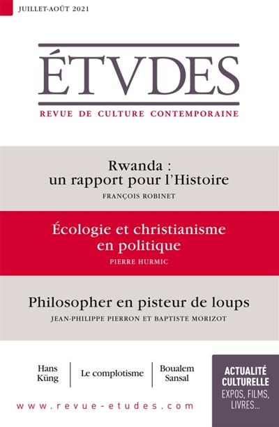 Etudes, n° 4284