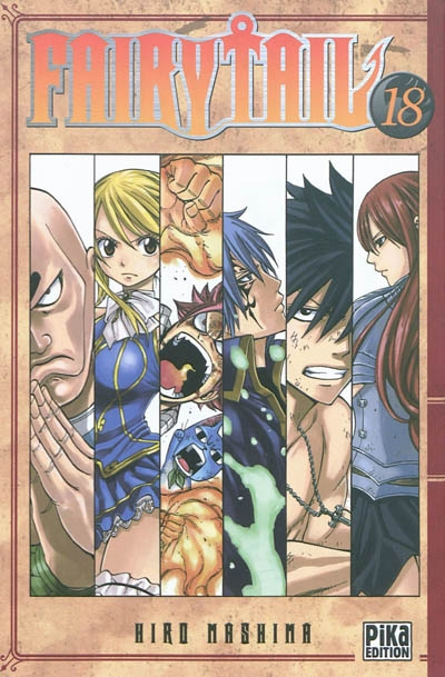 Fairy Tail. 18 / Hiro Mashima   Mashima, Hiro. Auteur