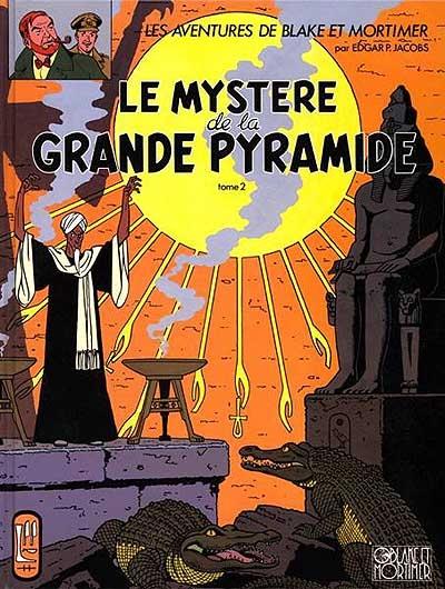 Le mystère de la grande pyramide. 2, La chambre d'Horus | Edgar Pierre Jacobs (1904-1987)