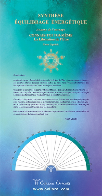 Synthèse équilibrage énergétique. Synthèse des activations et purifications par codes