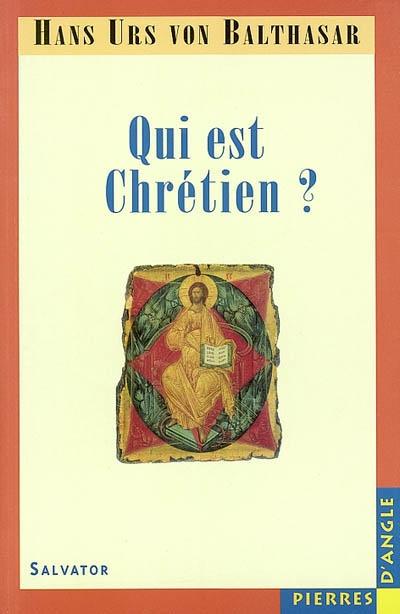 Qui est chrétien ?