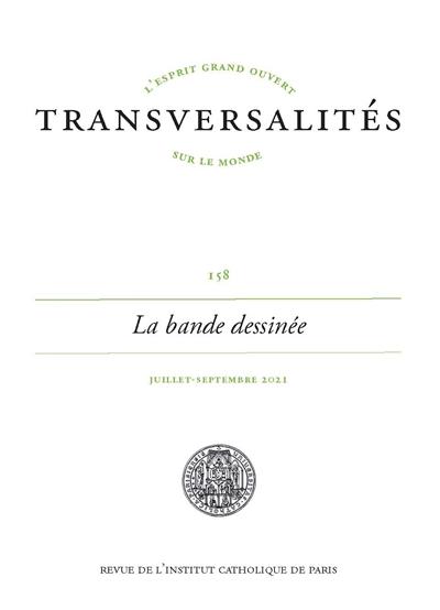Transversalités, n° 158. La bande dessinée