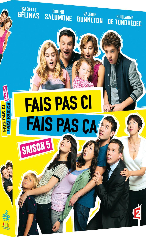 Fais pas ci, fais pas ça, saison 5 / Pascal Forneri, Yvan Radkine, Pascal Chaumeil, réal.   Chaumeil, Pascal. Metteur en scène ou réalisateur