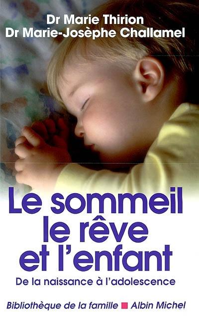 sommeil, le rêve et l'enfant (Le)   Thirion, Marie. Auteur