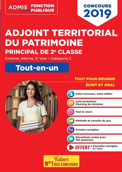 Adjoint territorial du patrimoine principal de 2ème classe : externe, interne, 3e voie, catégorie C : tout-en-un | Le Lann, Camille. Auteur