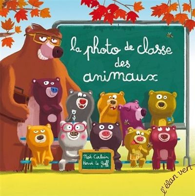 La photo de classe des animaux