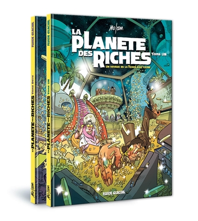 La planète des riches : pack tomes 1 et 2