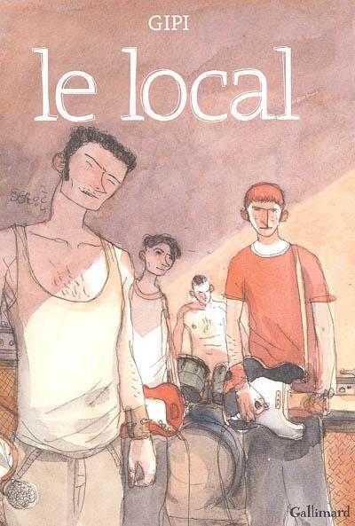 Le local / Gipi   Gipi (1963-....). Auteur