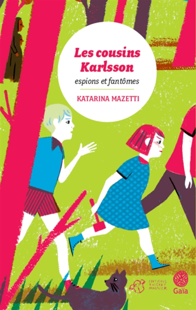 Les cousins Karlsson. 1, Espions et fantômes   Mazetti, Katarina (1944-....). Auteur