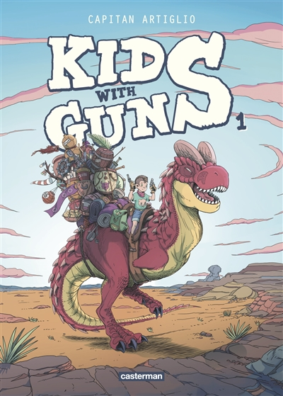 Kids with guns. 1 | Capitan Artiglio (1993-....). Auteur