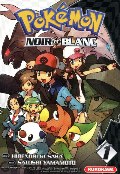 Pokémon : Noir et Blanc. 1 / scénario Hidenori Kusaka   Kusaka, Hidenori. Auteur