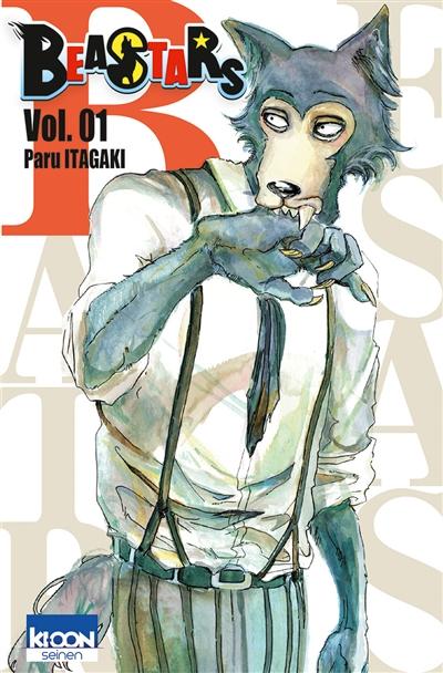 Beastars. Vol. 1 / Paru Itagaki | Itagaki, Paru. Auteur. Illustrateur