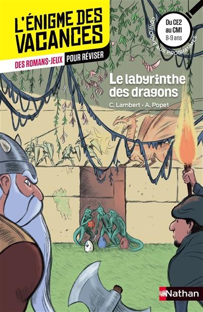 Le labyrinthe des dragons : du CE2 au CM1, 8-9 ans : conforme aux programmes