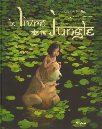 Le livre de la jungle / Rudyard Kipling   Kipling, Rudyard (1865-1936). Auteur