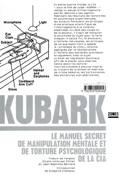 Kubark : le manuel secret de manipulation mentale et de torture psychologique de la CIA
