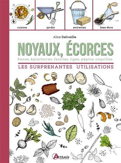 Noyaux, écorces : les surprenantes utilisations : fanes, épluchures, feuilles, tiges, pépins, coquilles