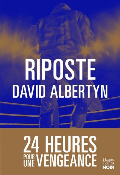 Riposte   David Albertyn, Auteur