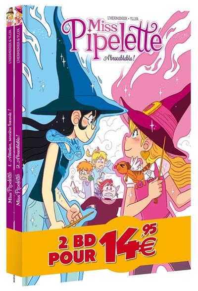 Pack découverte miss pipelette : tomes 1 & 2
