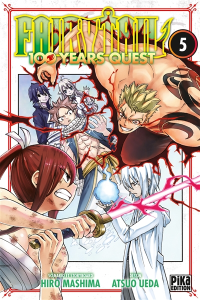 Fairy Tail : 100 years quest. 5 | Hiro Mashima (1977-....). Auteur