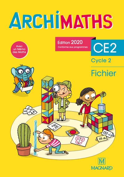 Archimaths CE2, cycle 2 : fichier