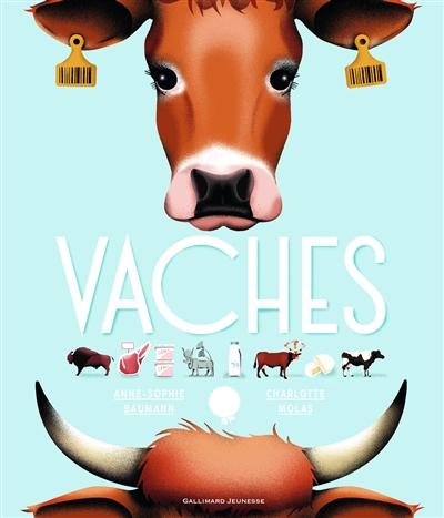 Vaches | Baumann, Anne-Sophie. Auteur