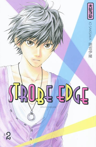 Strobe edge. 2   Io Sakisaka. Auteur