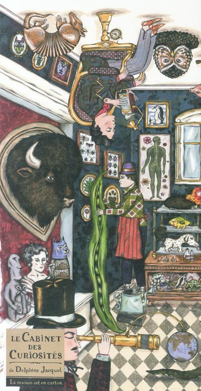 Le Cabinet des curiosités : [poster] | Delphine Jacquot (1982-....). Illustrateur
