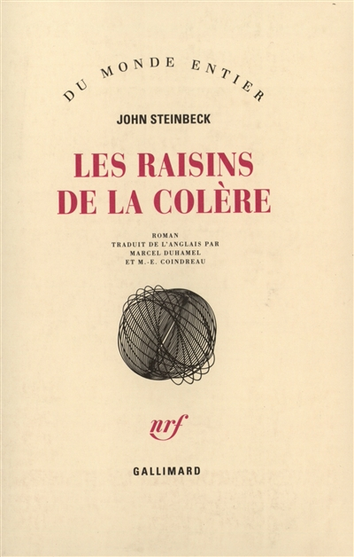raisins de la colère (Les) | Steinbeck, John (1902-1968). Auteur