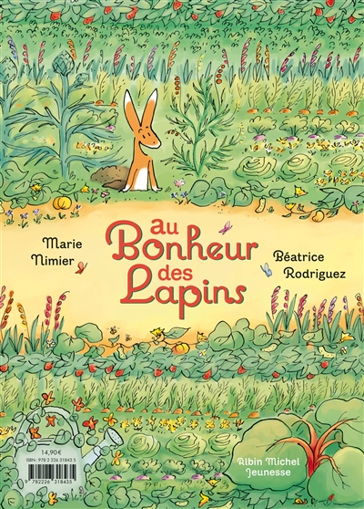 Au bonheur des lapins / Marie Nimier, Béatrice Rodriguez   Nimier, Marie (1957-....). Auteur