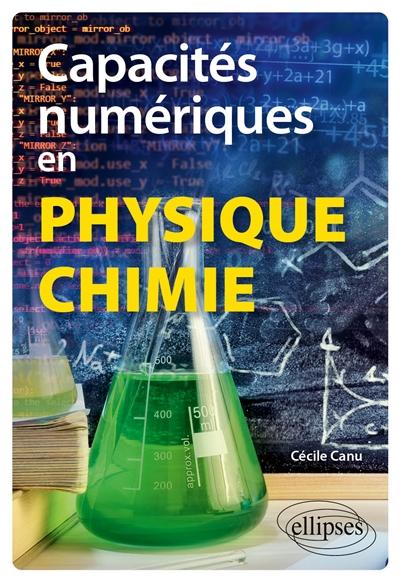 Capacités numériques en physique chimie