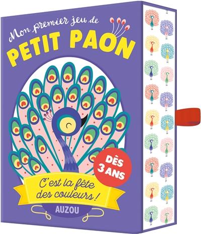 Mon premier jeu de petit paon : c'est la fête des couleurs !
