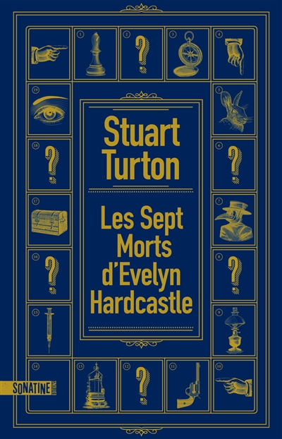 sept morts d'Evelyn Hardcastle (Les) | Stuart Turton, Auteur