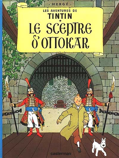 Le Sceptre d'Ottokar. 7 / Hergé | Hergé (1907-1983)