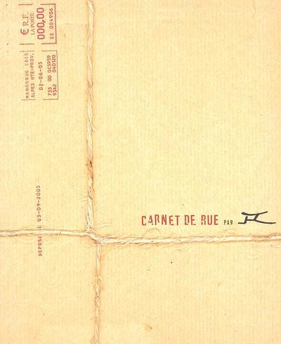 Carnet de rue |  JR (1983-....). Photographe