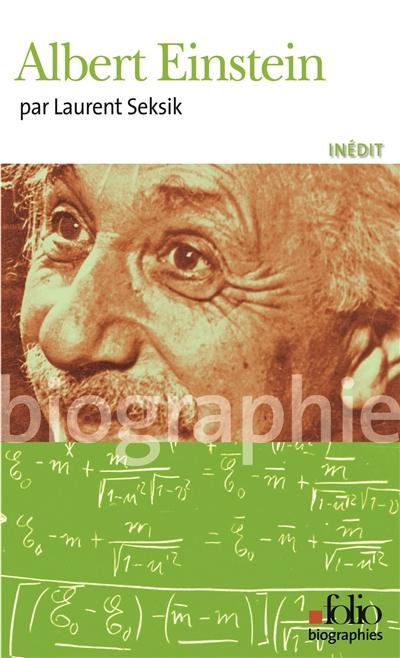 Albert Einstein   Seksik, Laurent (1962-....). Auteur