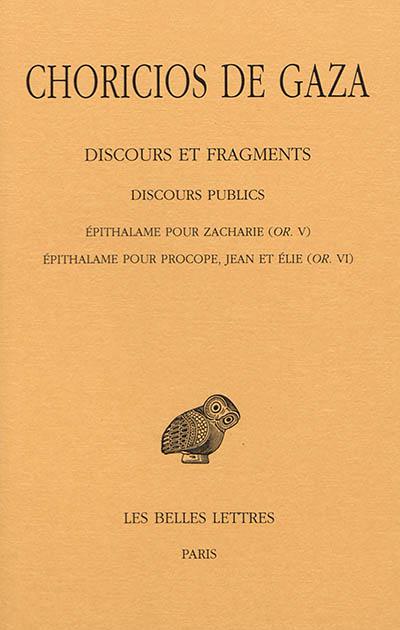 Discours et fragments. Vol. 2-3. Discours publics