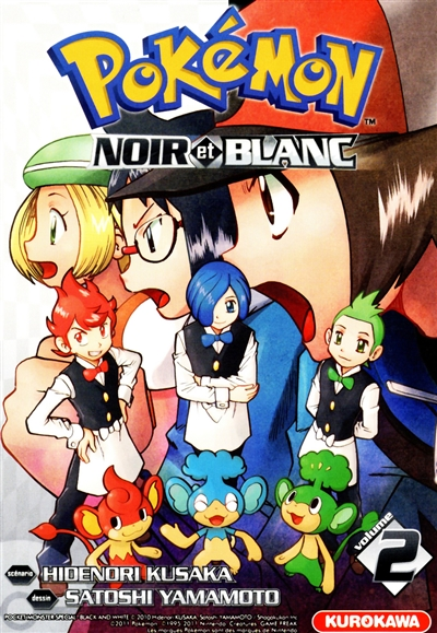Pokémon : Noir et Blanc. 2 / scénario Hidenori Kusaka   Kusaka, Hidenori. Auteur